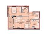 Двустаен апартамент в широк център