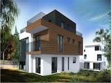 Нова къща на три етажа в кв. Драгалевци