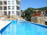 Spacious two-bedroom apartment in Galateya complex in Sveti Vlas