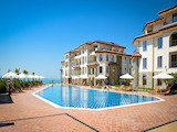Gated residential complex on the beachfront in Burgas