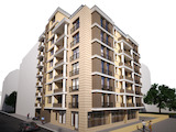 New residential building in the central area of Burgas city