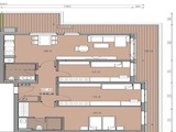 Large apartment in residential Building Energy Class A in Malinova Dolina District