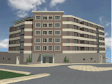 New residential building providing a wide choice of apartments, Kartala district