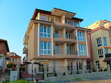 One-bedroom apartments and studios in a luxury residential building in Ravda