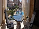 Elite 1-bedroom apartment in a gated complex Poseidon in Nessebar