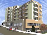 Нова жилищна сграда с магазини и паркоместа в ж.к. Меден рудник в Бургас