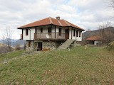 2-storey house with spacious yard and exceptional panorama to the Rhodopes