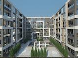 Large 1-bedroom apartment in a modern building in Izvrev neighborhood in Burgas