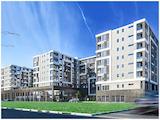 Тристаен апартамент в нова жилищна сграда в комплекс Изгрев в Бургас