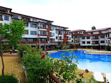 Spacious studio apartment in a popular complex in Sunny Beach