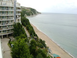 Studio apartment in a gated complex on the beach in Byala seaside resort