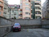 Communicative parking space in Lozenets district