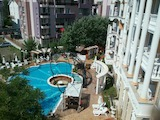 Stylishly furnished 2-bedroom apartment in Sunny Beach seaside resort