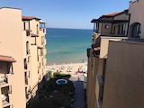 Sea view 2-bedroom apartment in a waterfront complex in Sunny Beach