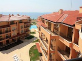 Stylishly furnished studio apartment in a newly built complex near the beach in Sveti Vlas