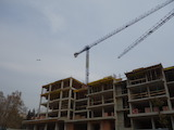 New residential building in Mladost quarter