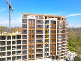 New, high class residential building in Lauta Park