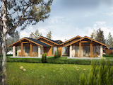 Luxury and modern family houses in alpine style near Pirin Golf and Country Club