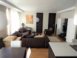 Stylish two-bedroom apartment with garage in Borovo quarter