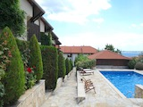 Luxury furnished family house in a complex with a sea view