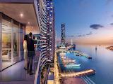 Двустаен апартамент с уникални гледки към морето и Дубай Марина