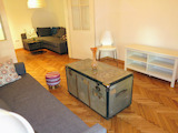 Fully furnished artistic apartment in the center of Sofia