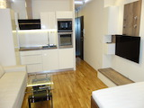 Excellently furnished studio near South Mall in Student Town district