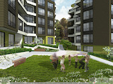 One-bedroom apartment in a luxury residential complex Karavella Green Park