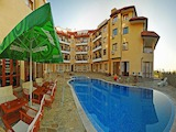 "Furnished one-bedroom apartment in ""Oasis Beach Resort"" complex"
