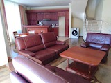 Furnished two-level penthouse in the popular gated complex in Vitosha district