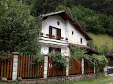 Two-storey, fully furnished house with barbecue and yard in Ribaritsa
