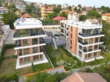 Newly built apartments in the Trakata district