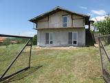 Нова къща с голям двор и панорама към Средна гора