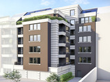 Строящееся здание возле бул. Г.С. Раковского в г. София