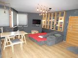 Двухкомнатная квартира в круглогодичном комплексе в районе Боровец