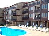 Просторная, хорошо меблированная квартира с видом на море в комплексе Солнечный Дом
